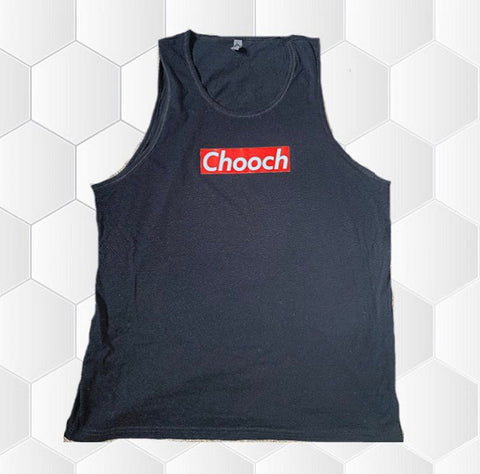 Chooch Unisex Black Tank Top