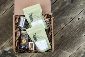 Herbal Tea and Honey Gift Set