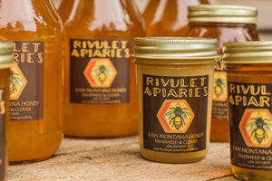 Raw Knapweed & Clover Honey