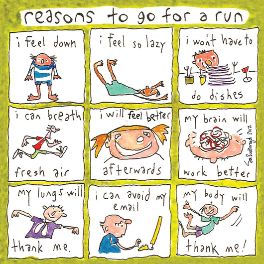 Reasons to go for a run