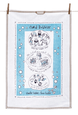 Tea Towel - Covid Bubbles