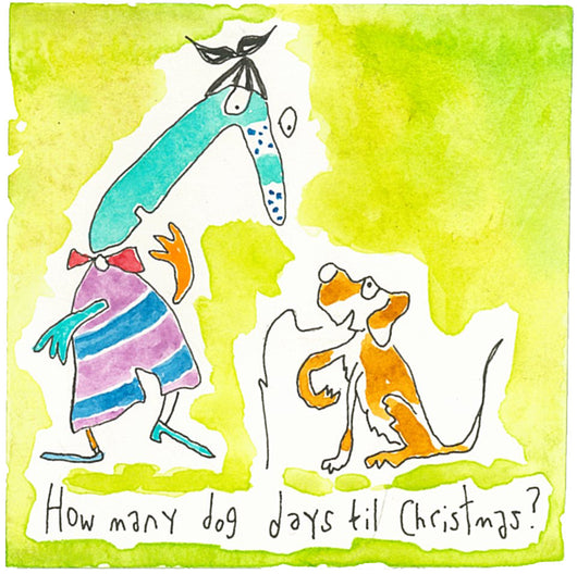 How many dog days til Christmas?