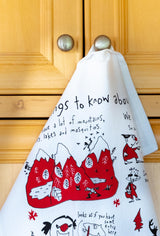 Tea Towel - Things To Know About Canada (English & French) Tea Towels