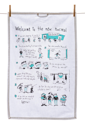 Tea Towel - Welcome to the New Normal
