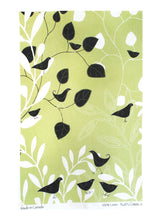 Tea Towel - Raingoose Botanical Bird