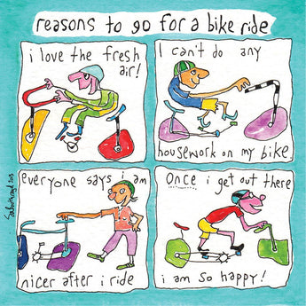 Reasons to Go for a Bike Ride
