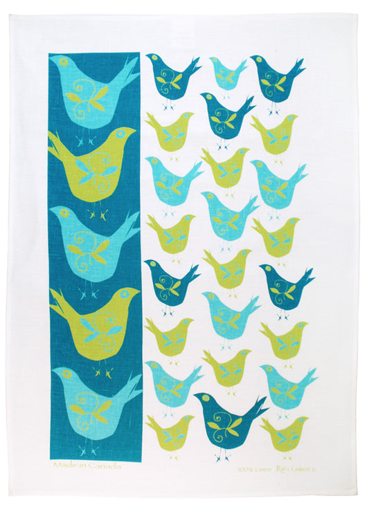 Tea Towel - Raingoose Swedish Bird