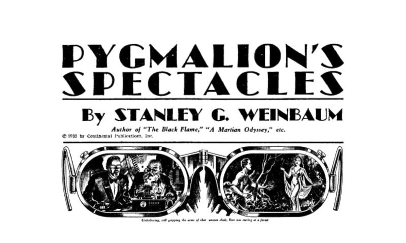Pygmalion's Spectacles, VR, Tech, News