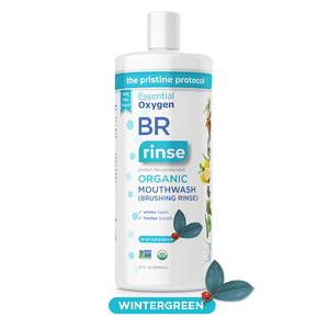 BR | Organic Wintergreen Mouthwash | Brushing Rinse (32oz)