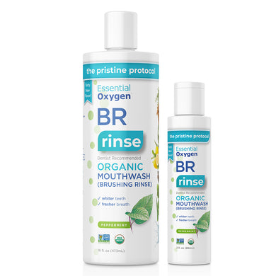 Brushing Rinse Mouthwash combo pack