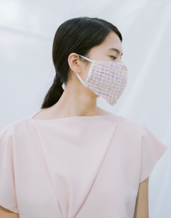 Etni Tweed Mask (Pre-Order 7 Working Days)