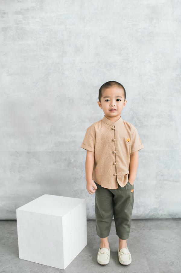 Theo Shirt in Milo (PRE-ORDER 10 WORKING DAYS)
