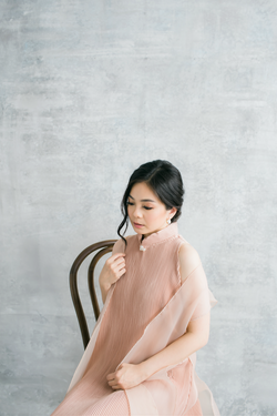 Stan Dress in Beige (PRE-ORDER 10 WORKING DAYS)