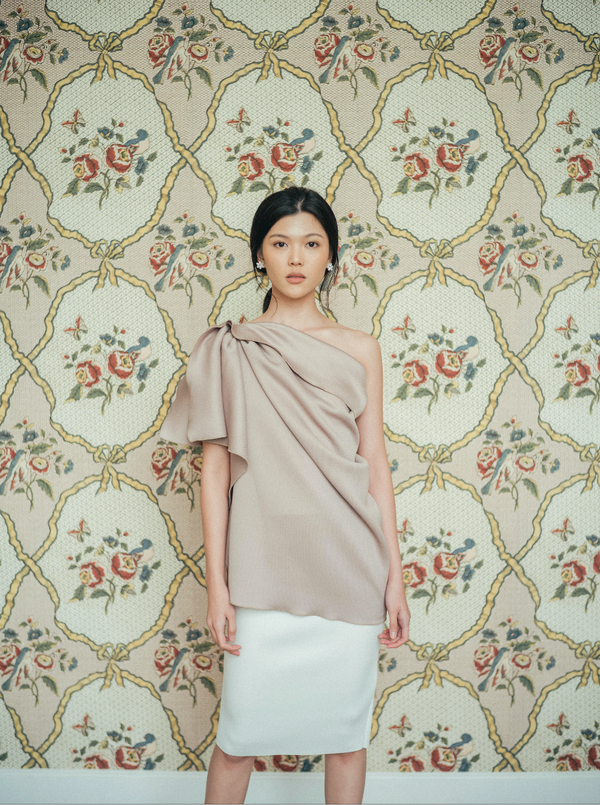 Anita Top in Taupe (Will be delivered on Monday, 9 March 2020)