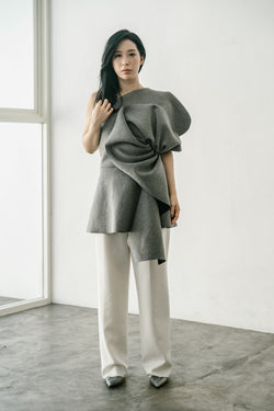 Jasmine Top in Grey