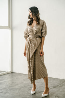Grace Dress in Beige