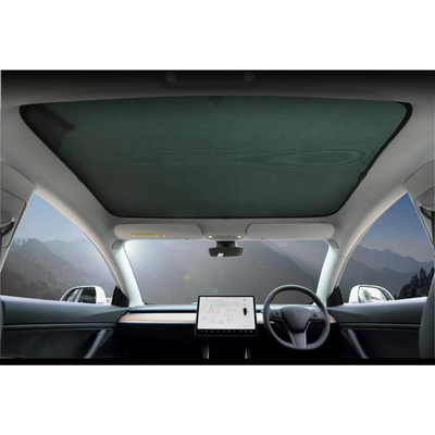 Sun shade for glass roof tesla model 3 australia