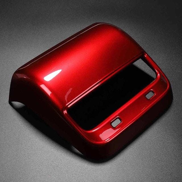 Red or White Rear Air Conditioning Vent Trim-Tesla Model Accessories Australia
