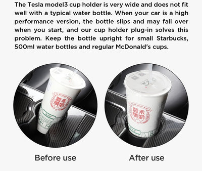 Cup Holder for Tesla Model 3