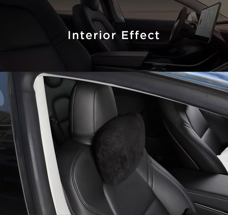 Headrest + Backrest for Tesla Model 3