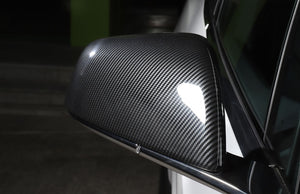 Carbon Fiber Side Mirror Cover for Tesla Model X