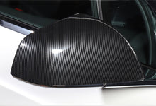 Load image into Gallery viewer, Carbon Fiber Side Mirror Cover for Tesla Model X