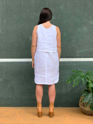 The Emma Dress - White