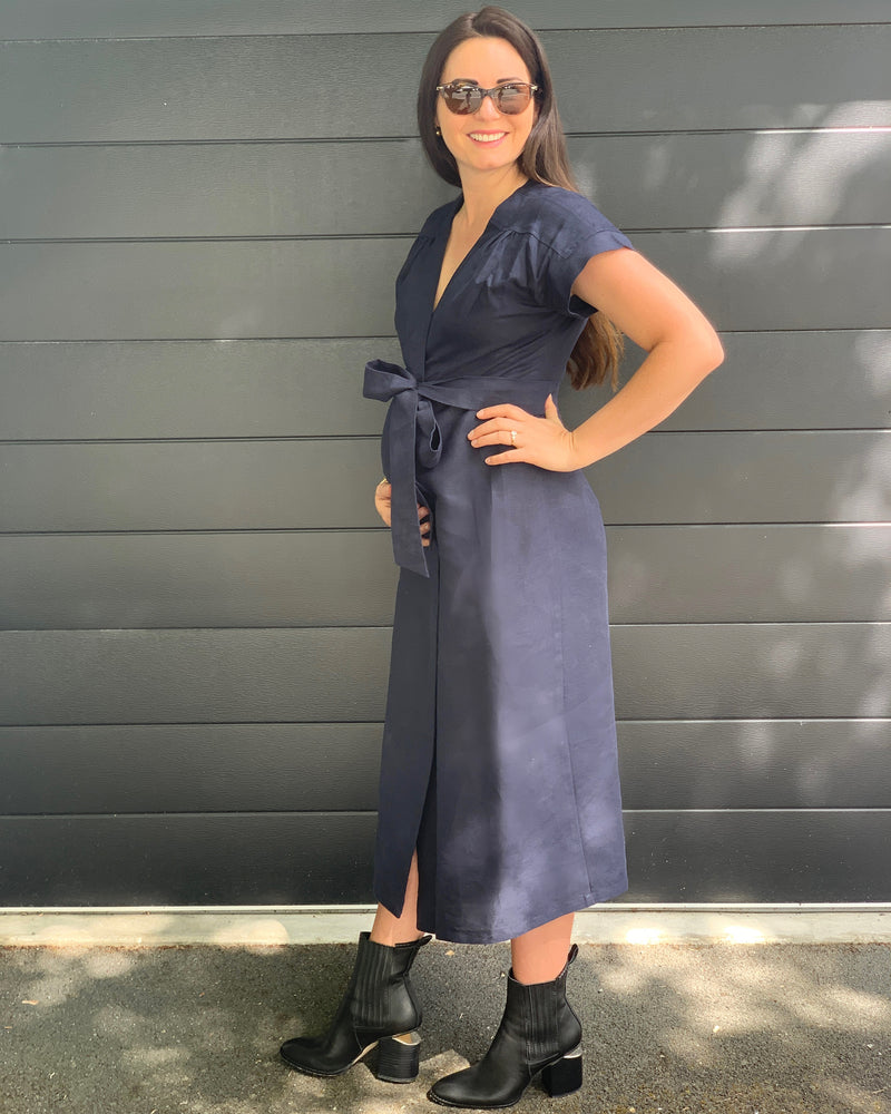 The Ellie Dress - Navy