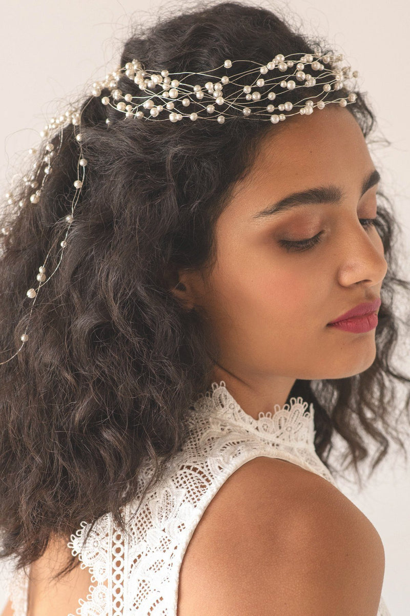 Baby's Breath Halo Headpiece