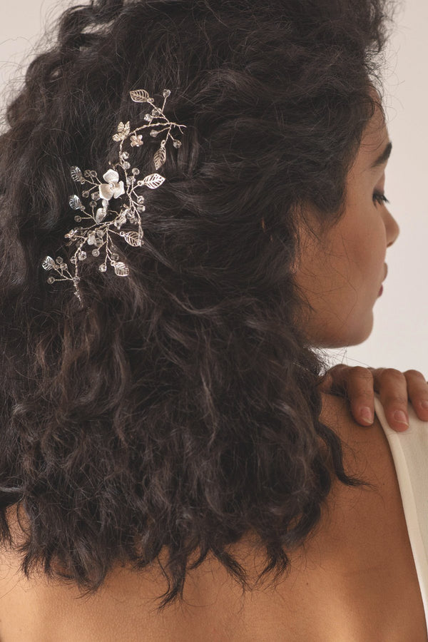 Delicate Vine Crystal Headpiece