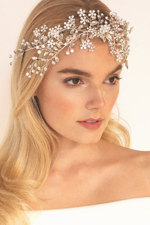 Eden Crystal Vine Hair Crown