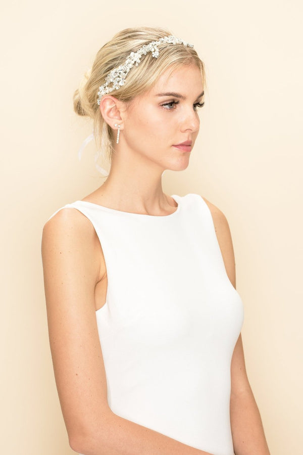 Fiona Crystal Hair Crown