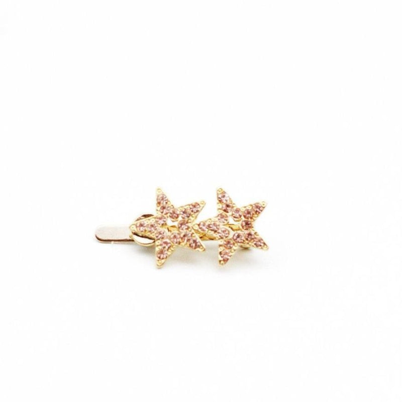 TWIN STAR MAGNETIC BARRETTE