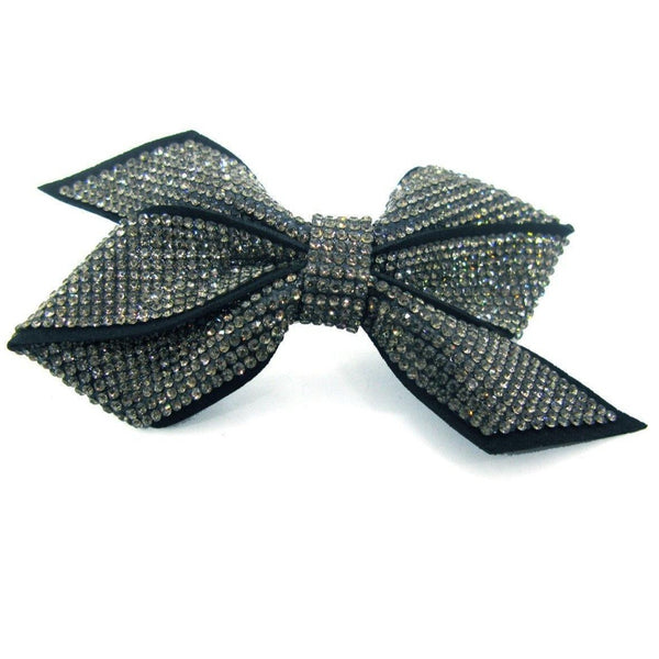 Felt Fabric Ribbon Barrette 2