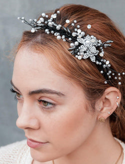Crystal Bouquet Headband
