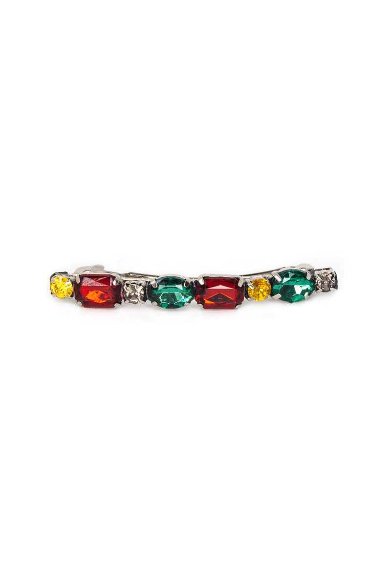 Chromatic Gemstones Barrette