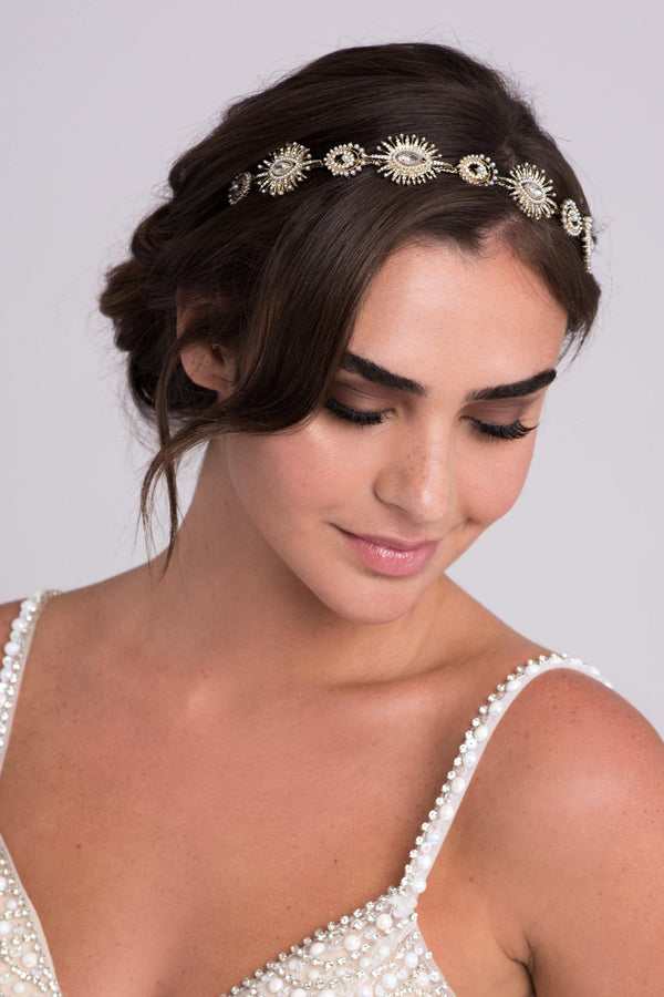 Art Deco Inspired Starburst Headband