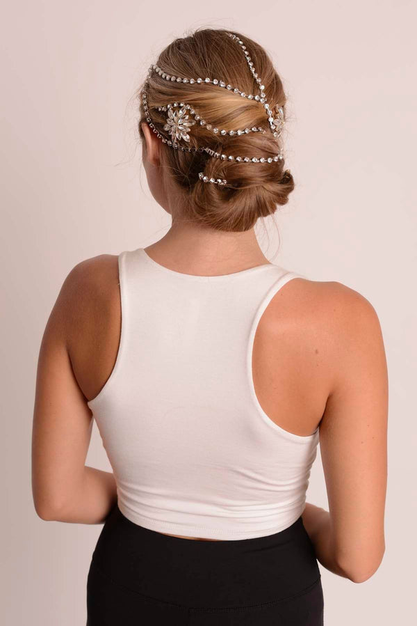Crystal Hair Chain