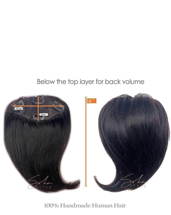 Angela - Human Hair Volume Topper