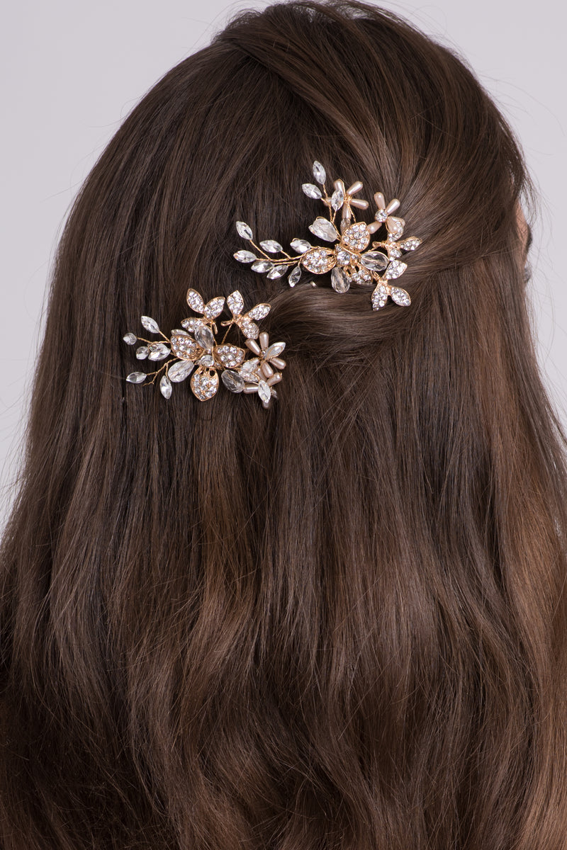 Ava Crystal Hair Crown