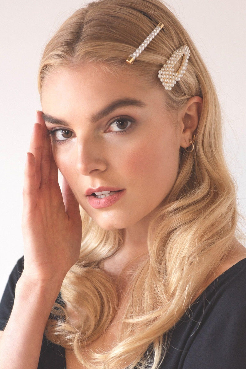 Forever Pearls Barrette