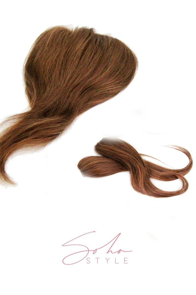 "SPECIAL VALUE SET - LUCY 13"" HUMAN HAIR + ALI 12"" CLIP-IN REMY HUMAN HAIR SET"