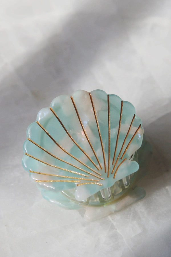 Pastel Mini Seashell Hair Jaw