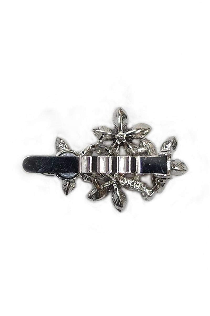 Soho Style Barrette Royal Pearl Floral Barrette