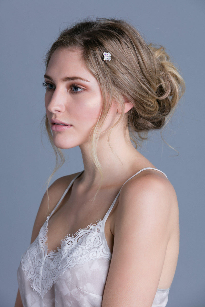 Soho Style For the Bride Pearl & Crystal Cluster Mini Comb