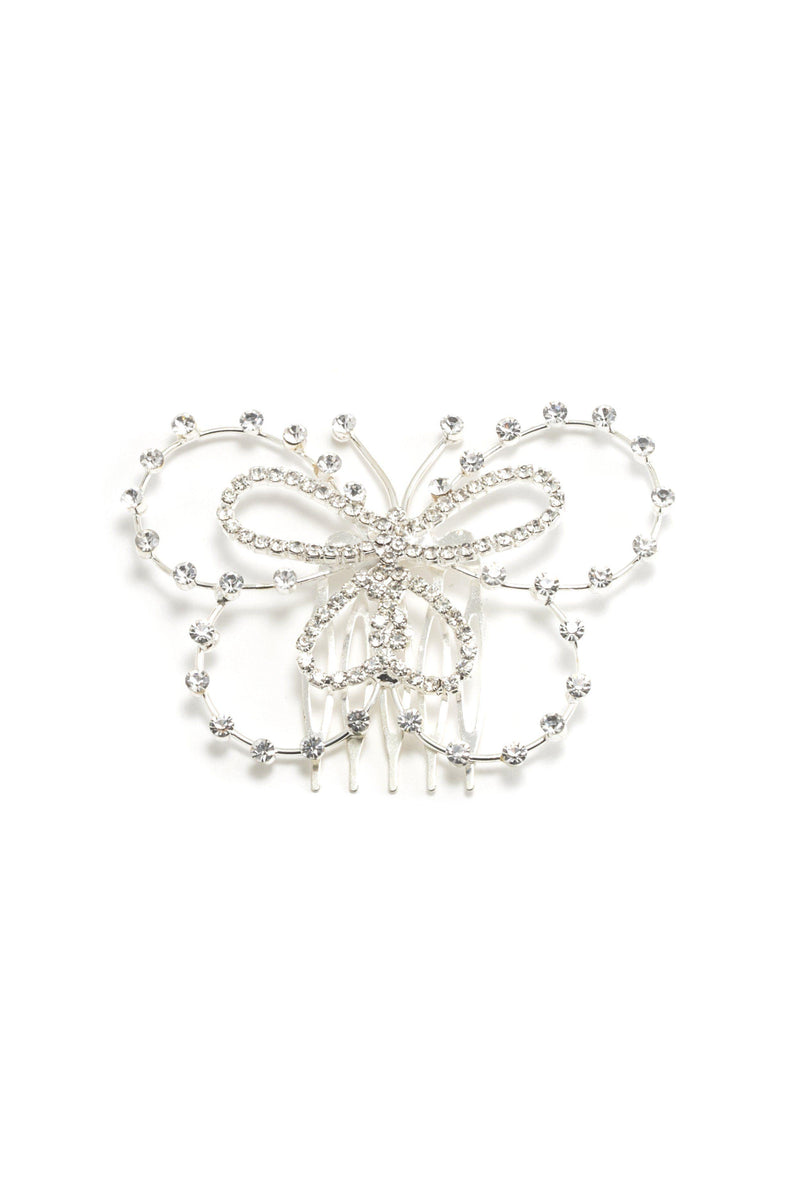 Soho Style Hair Comb Bridal Butterfly Hair Comb