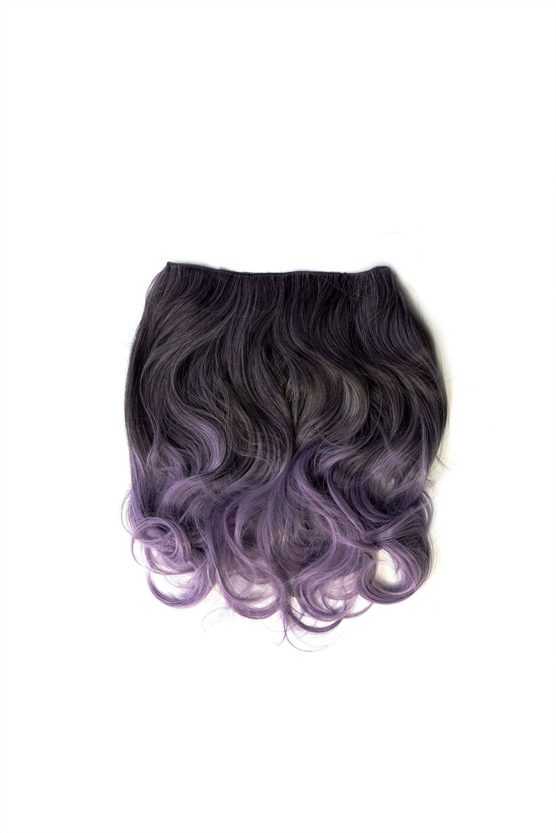 Soho Style Hair Extension 15'' / ash purple Purple/Grey Tone Ombre Halo Extensions