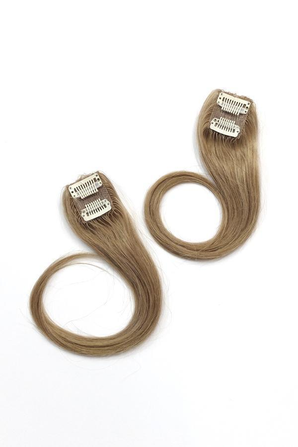 Ali LIGHT - 2pc Volume Crown Topper -  Hair Extension, Soho Style
