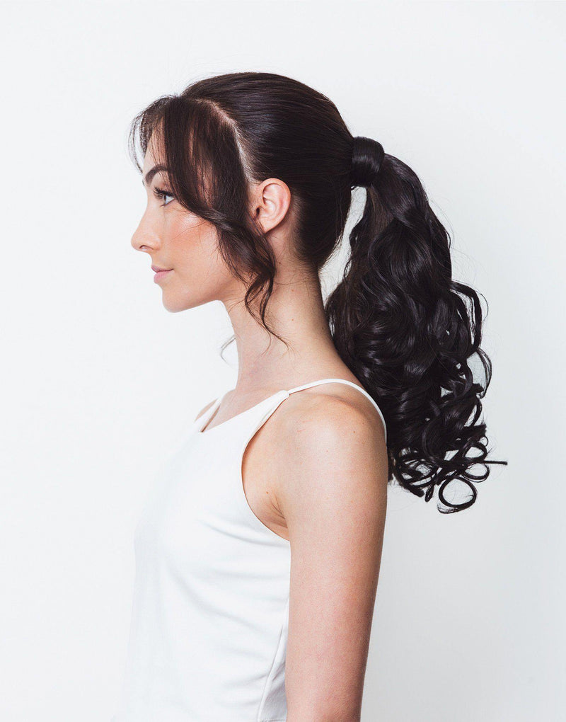 "Soho Style Hair Extension Miley - 18"" Curly Wrap-Around Ponytail Extension"