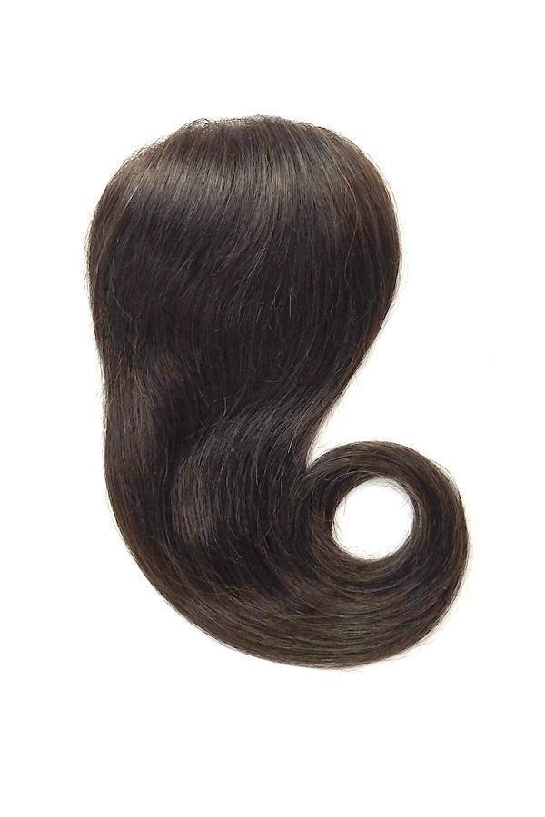 Soho Style Hair Extension S08: H. Dark Brown Tiara 18'' Volume Topper Extension